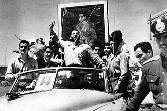 1953 Iranian coup d'état - Shaban Jafari, commonly known as Shaban the Brainless (Shaban Bimokh), was a notable pro-Shah strongman and thug. He led his men and other bribed street thugs and was a prominent figure during the coup.
