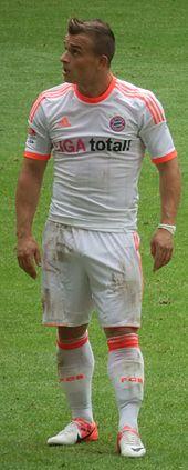 Shaqiri al Bayern Monaco nel 2012