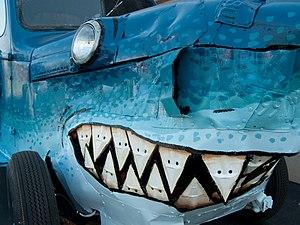 Maker Faire - Sharkmobile at Bay Area Maker Faire 2009
