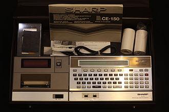 Musée Bolo - Image: Sharp PC 1500 IMG 4255