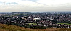 Shaw, Royton, Oldham and Manchester from Crompton Moor.jpg