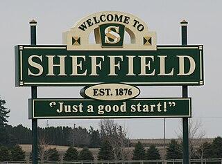 Sheffield, Iowa City in Iowa, United States