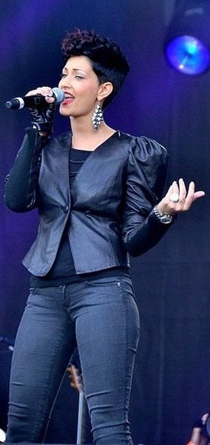 Sheryfa Luna - Sheryfa Luna performing in Paris on Bastille Day 2011