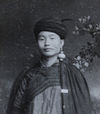 Shi Jinbo in traditional Yi dress in 1961