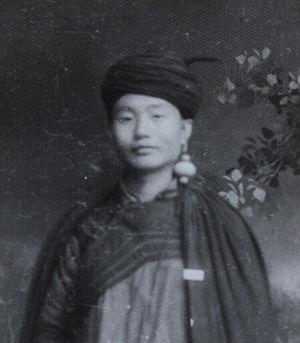Shi Jinbo - Shi Jinbo dressed in Yi costume in 1961