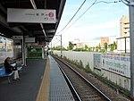 Shin-Keisei Shin-Kamagaya Station track No.2 201807 02.jpg