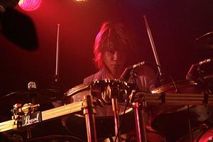 Shinya (musician) - Image: Shinya at House of Blues Sunset Strip on Dec 23, 2011