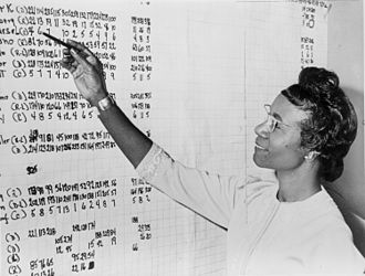 Shirley Chisholm - Chisholm reviewing political statistics in 1965.