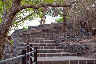 Shivneri - Stairs Leading to Shivneri Fort