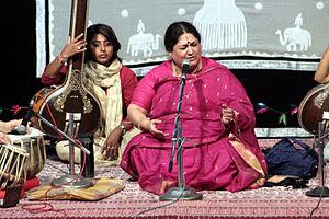 Shubha Mudgal - Shubha Mudgal Reforming  at  Bharat Bhavan in Bhopal in July 2015