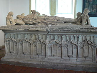 Sibet Attena - Sarcophagus of Sibet Attena in the St. Magnus Church in Esens