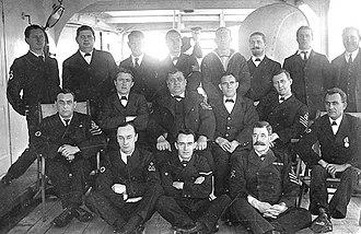 Medical Assistant (Royal Navy) - Sick Berth staff onboard World War I hospital ship