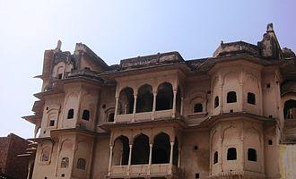 Khetri Mahal - Image: Side View of Khetri Mahal