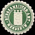 Siegelmarke Bürgermeister-Amt Menden-W. W0314453.jpg