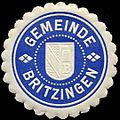 Siegelmarke Gemeinde Britzingen W0310468.jpg