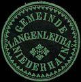 Siegelmarke Gemeinde Langenleuba-Niederhain W0312924.jpg
