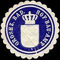Siegelmarke Groshz. Badisches Hof-Bau-Amt W0307911.jpg