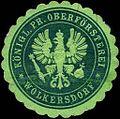 Siegelmarke Königlich Preussische Oberförsterei - Wolkersdorf W0247210.jpg