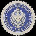 Siegelmarke K. Marine Kommando S.M.S. Seydlitz W0363987.jpg