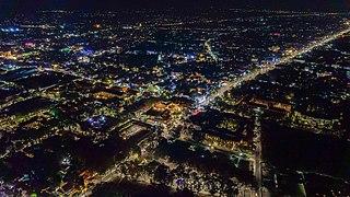 Siem Reap City in Siem Reap Province, Cambodia