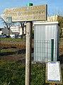 Sign of Way of Saint James - Montpon-Ménestérol, Dordogne.jpg
