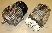 3-х фазный асинхронный двигатель.