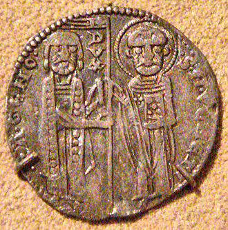 Reniero Zeno - Silver Grosso of Doge Raniero Zeno, 1253-1268, Venice.