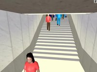 File:Simulation of Pedestrians, Traffic, and Public Transport at an Airport Curbside.webm