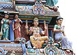 Singapore. Sri Mariamman. Gopuram. South East-22.JPG