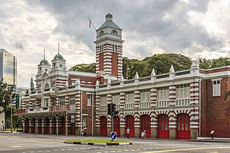 Singapore Civil Defence Force - Central Fire Station, built in 1909, is Singapore's oldest fire station