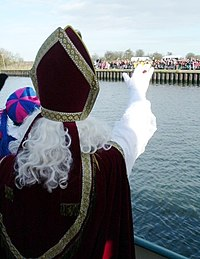 Sinterklaas arriveert