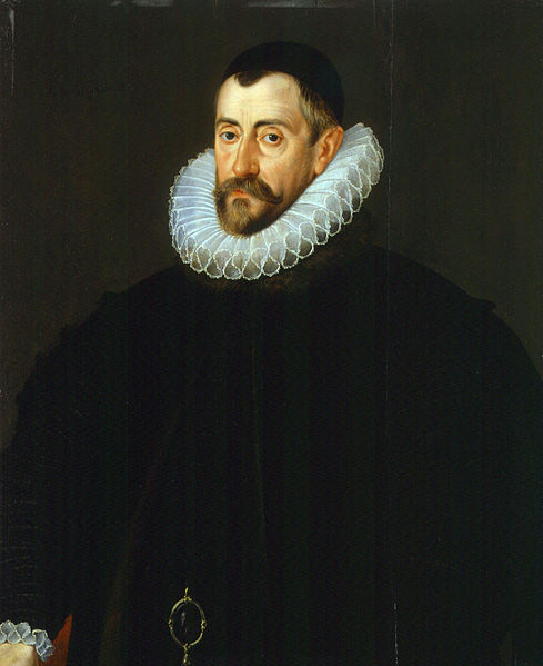 Sir Francis Walsingham by John de Critz, c. 1585.  (Wikimedia Commons)  As Elizabeth's spymaster, Walsingham uncovered several plots against Elizabeth's life, including one that led to the execution of her cousin Mary, Queen of Scots.