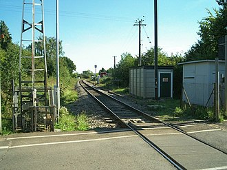 Chipping Campden - The currently closed Chipping Campden railway station.