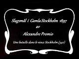 Fil:   Slagsmål i Gamla Stockholm 1897. webm