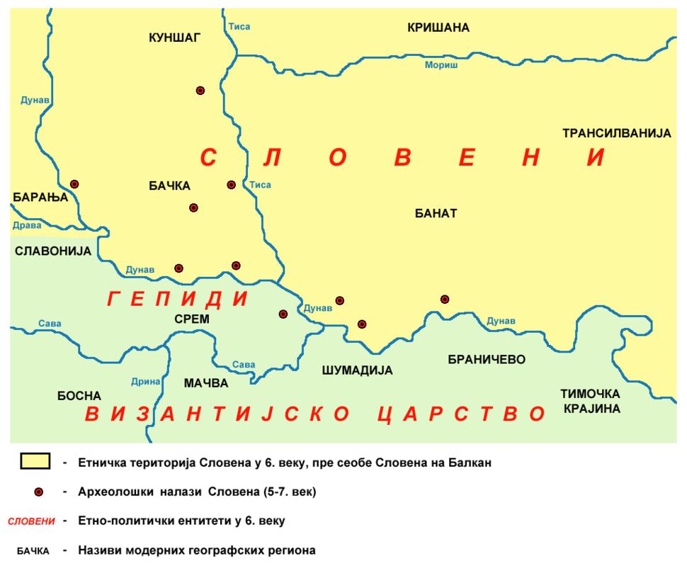 Slavs Vojvodina01 map sr