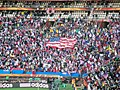 Slovenia - USA at FIFA World Cup 2010, tribunes.jpg