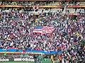 Slovenia - USA at FIFA World Cup 2010, tribunes.jpg