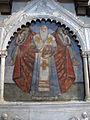 Smn, transetto dx, monumento al patriarca giuseppe di costantinopoli, 1440 ca., con effige del 1590-92, 02.JPG