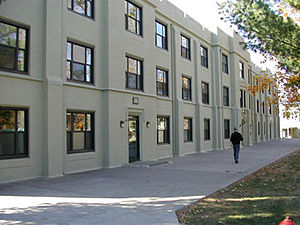 Fork Union Military Academy - Snead Hall, previous home of Alpha, Bravo, and Delta Companies