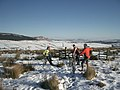 Snowy bike ride on Sharp Haw - geograph.org.uk - 1077387.jpg
