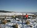 Snowy bike ride on Sharp Haw - geograph.org.uk - 1077387.jpg