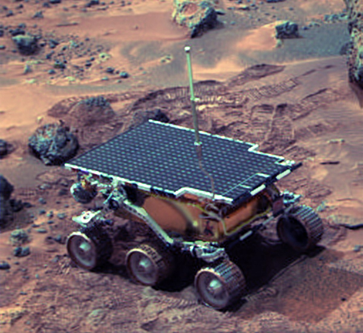mars rover first photo - photo #31