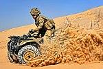 Soldier on a Quad Bike in Afghanistan MOD 45156139.jpg