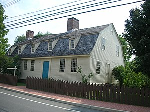 Meriden, Connecticut - Solomon Goffe House (1711), Meriden (2007)