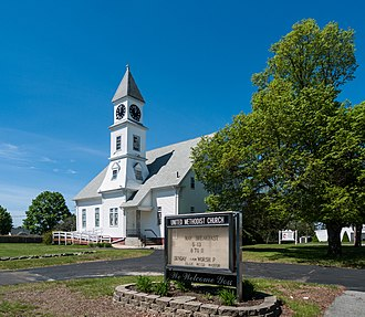Somerset, Massachusetts - Somerset United Methodist Church