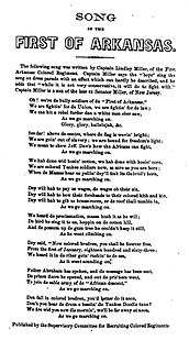 Marching Song of the First Arkansas