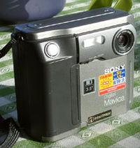 Un Mavica FD5 de 1998.