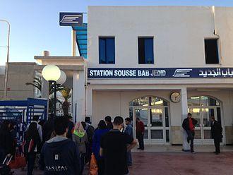 Sahel Metro - Sousse Bab Jedid start station