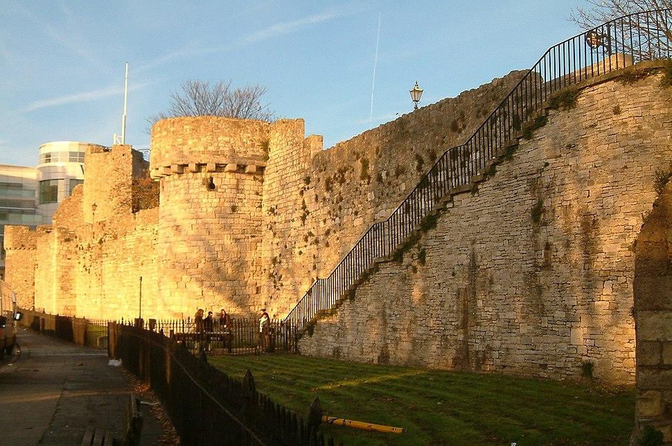 Southampton - mur medieval 02