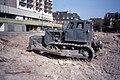 Soviet ЧТЗ T-100 Bulldozer, Erfurt, DDR. August 1989.jpg